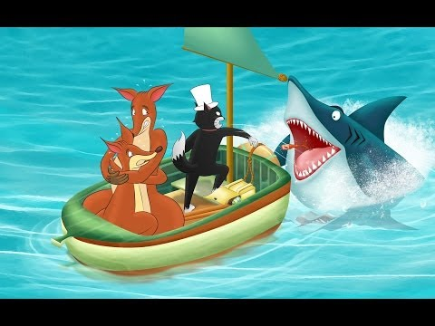 Shark Frenzy, Story 32 of the series Oliver and Jumpy