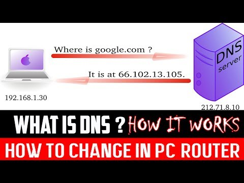 What Is DNS ? How DNS Works ? How to Change DNS In Windows/Router ?