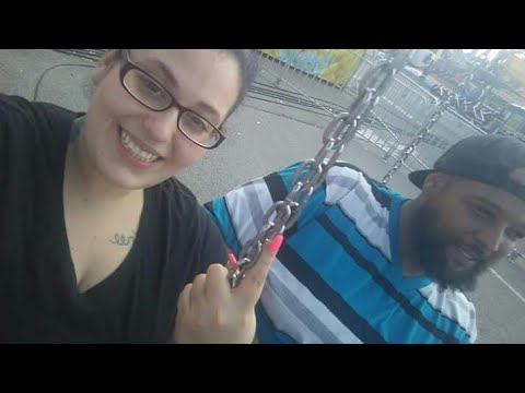 her first time on fair swings she was so scared lol💀💀😁😁