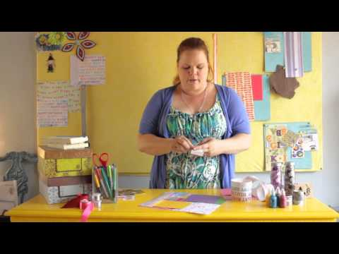How to Make a Collage for a Birthday Party : Scrapbooking & Other Crafts