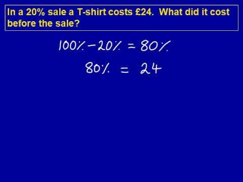 Original Price mathscasts