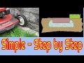 Paving Stone Brick Landscape Border - Keep it Simple!