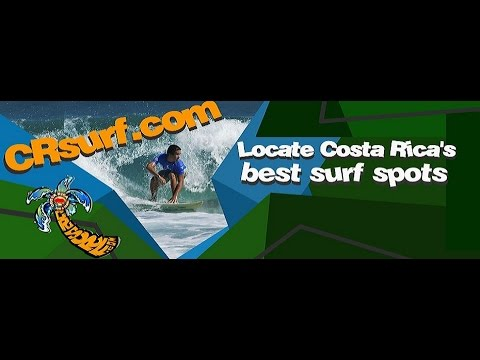 Where to Surf in Costa Rica - Best Beaches Map    CRSurf.com