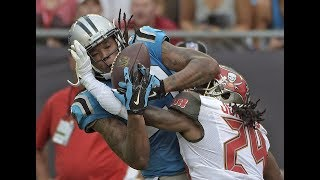 NFL Passes Caught Through Interference
