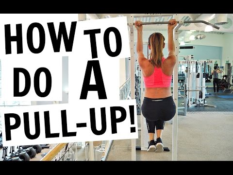HOW TO DO YOUR FIRST PULL UP | FOR BEGINNERS