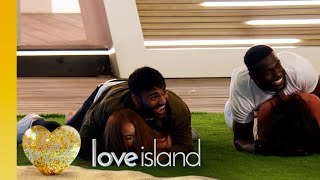 The Islanders compete in a speedy sex positions challenge | Love Island Series 6