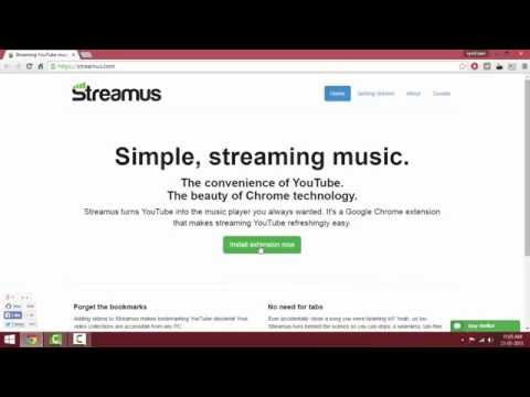 How To Use Chrome Browser As Music Player