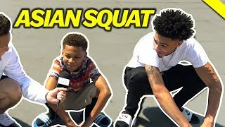 Asking Random People To Do The Asian Squat - Fung Bros