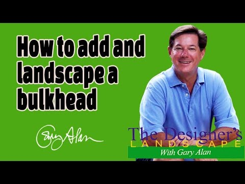 How to add and landscape a bulkhead Designers Landscape#605