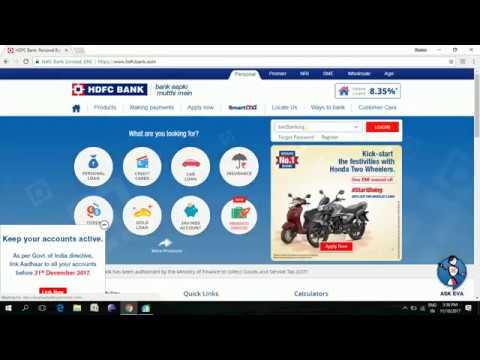 HDFC Aadhaar Number update || Online Aadhaar update HDFC || by LiveFull
