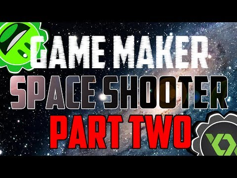 Game Maker Tutorial - Space Shooter - Part Two: Movement