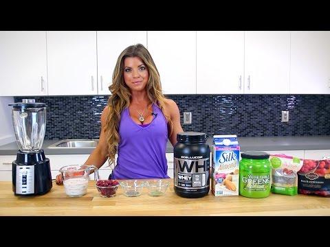 Jen Jewell's Bikini Booty Protein Smoothie Recipe