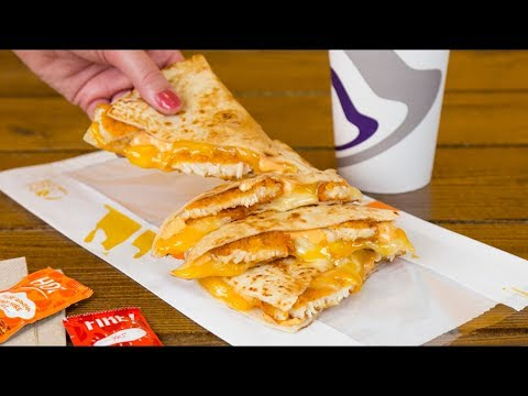 Taco Bell Crispy Chicken Quesadilla Review - WE Shorts