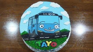 Hai Tayo Kue Ulang Tahun Tayo Rogi Lani Gani Cake Kue Ultah Tart Sederhana
