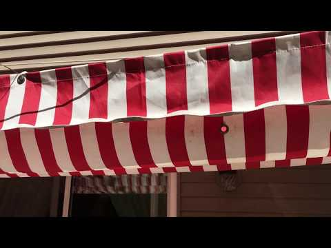 How to Build a Motorized Retractable Awning- DIY
