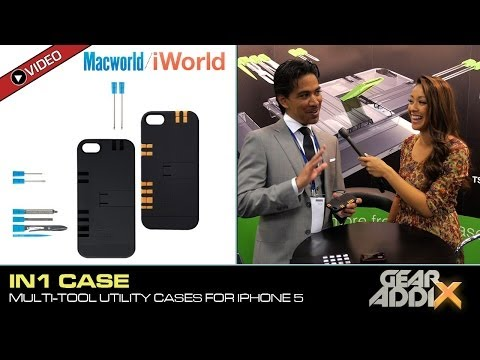 IN1 Multi Tool Utility Case for iPhone 5/5S (MacWorld/iWorld 2014)