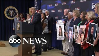 Trump meets with Angel families as questions persist about immigration policy