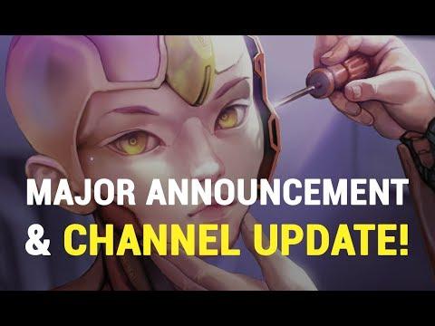 Major Announcement & Big Channel Update!! 🎨