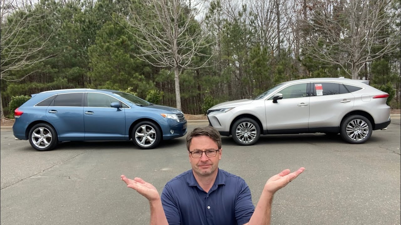 Comparing 2021 Venza vs 2009 Venza: Let's See Just How Much it Changed