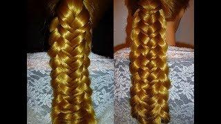 Einfache Frisuren 6 Strähnen Zopf Flechten Tutorial 6