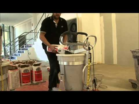 Floor Levelling Concrete Mixer - the FASTEST way to mix cement!