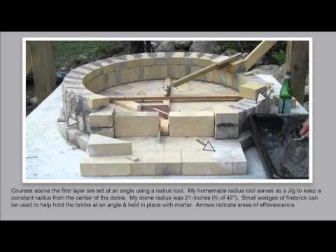 Detailed How to Build an Authentic Pompeii Pizza Oven, Part 2 of 4 ~ Building the DOME!