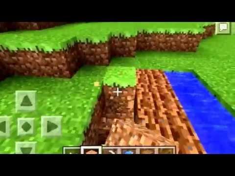 Minecraft PE ( How To Grow Pumpkins )