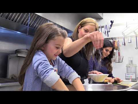 Cooking with Emily Mardell and Chef Lindsay Porter