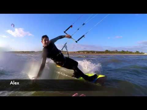 'Summer Fun' kitesurfing UK - The Kite Monkeys