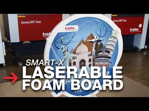 Laserable Foam Board | Laser cutting foam board | Smart-X