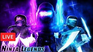 ⚡UPDATE *Winter Wonder Island* soon |  LEGEND GIVEAWAYS Ninja Legends ROBLOX LIVE STREAM (13Dec2019)