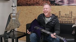 Metallica: Guitar Talk with James