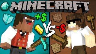 Rich Noob vs. Poor Pro - Minecraft