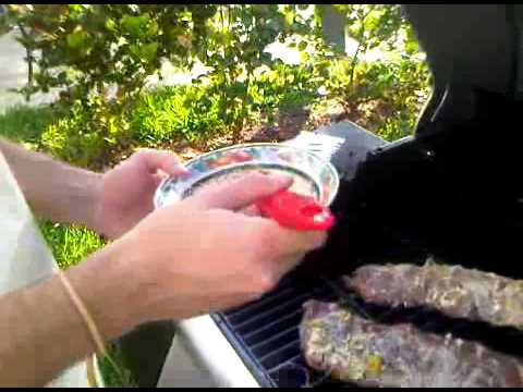 Cooking with Tio Pepe 3: Picasso on the Grill