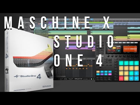 How to Set Up Maschine with Studio One V4 part 2