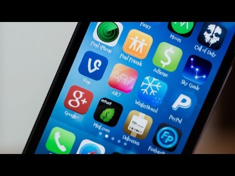 iOS 7 WinterBoard Themes: Vine App Icon Colors - How To Change The Vine Icon Color