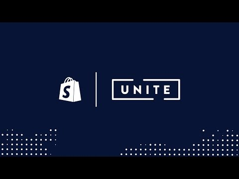 Welcome to Shopify Unite // Harley Finkelstein (Shopify Unite 2017)