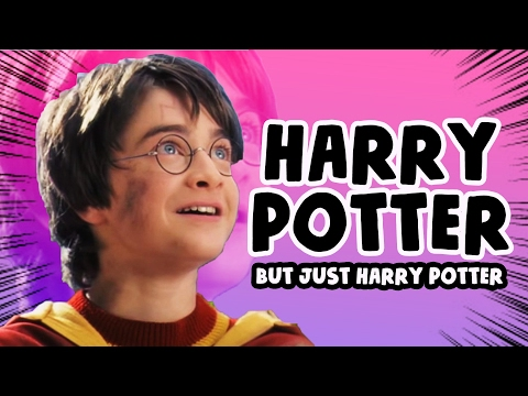 Every Harry Potter Movie but only the words