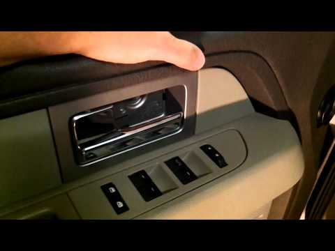 2009 FORD F150 XLT DOOR PANEL REMOVAL