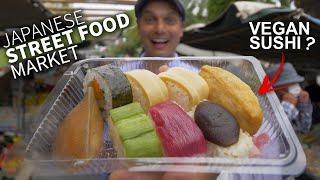 Download Japanese Street Food Market w/ Vegan Sushi ★ ONLY in JAPAN Video