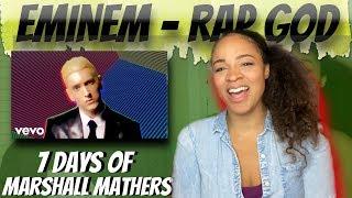 Eminem - Rap God (Reaction) | 7 DAYS OF MARSHALL MATHERS