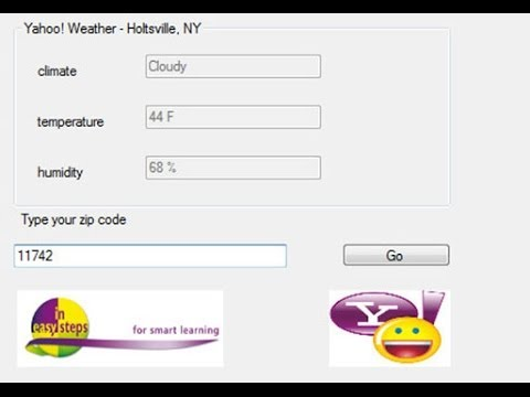 Create a Weather App using Visual Basic