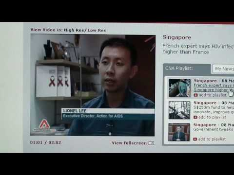 Singapore HIV Infections Higher Than France