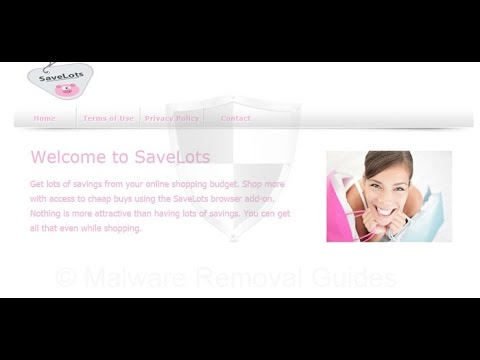 Remove SaveLots adware Virus Removal Guide