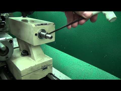 07 G0602 Tailstock Disassembly & Cleaning