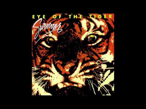 Survivor - Eye Of The Tiger (Vocals Half-Step # Out of Key)
