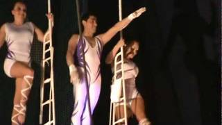 Trapeze Acrobats at Circus Circus Hotel Casino, Las Vegas Attractions, View 1