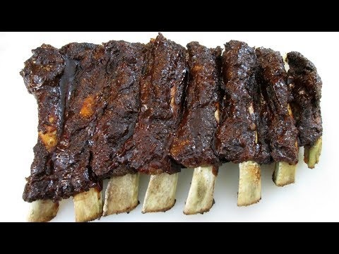Barbecue Beef Ribs - Oven Baked Recipe - PoorMansGourmet