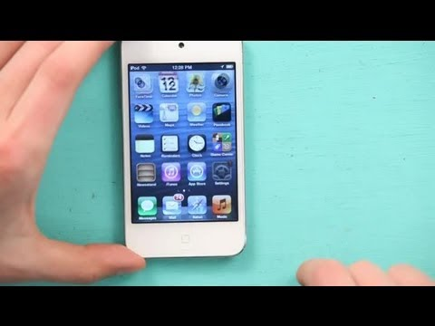 How to Turn Off the Camera Noise on an iPod Touch : iPod & iPod Touch