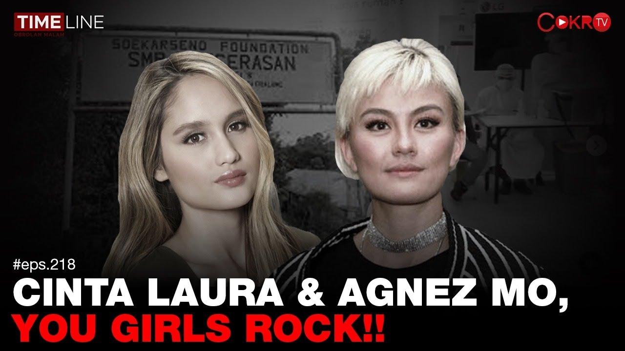 Download Denny Siregar: CINTA LAURA & AGNEZ MO, YOU GIRLS ROCK!! MP3 Gratis